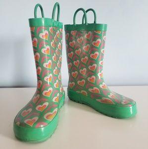 Girls rainboots Size 11